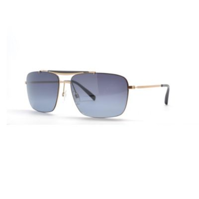 713-834 - Tommy Hilfiger Men's Matte Gold-tone Designer Sunglasses