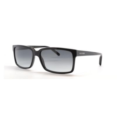 713-842 - Tommy Hilfiger Men's Black Designer Sunglasses