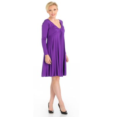 Suzanne Somers 'Waterfall' Dress. PURPLE, 3X $ 41.13