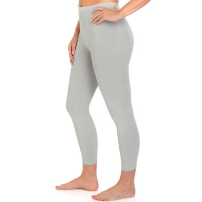WearCASS by Susan Light Shaping Leggings. GREY, 1X $ 30.00