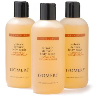 Isomers Wrinkle Defense Body Wash Trio