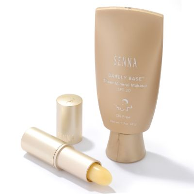 Senna Barely Base w/ SPF12 Stick. LIGHT, DARK, FAIR, MEDIUM $ 33.75