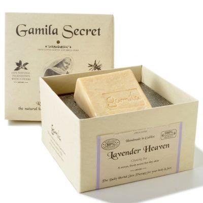 Gamila Secret Handcrafted Soap. LAVENDER $ 31.50