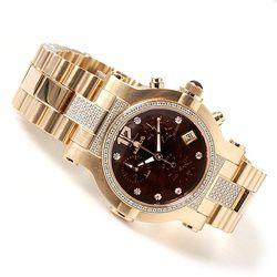 Renato Women's Collezioni Diamond Chronograph Stainless Steel Watch $ 578.61