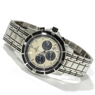 Croton Men's Chronomaster Stainless Steel Bracelet Watch $ 277.75