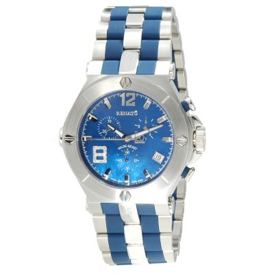 Renato Men's or Women's Wilde-Beast Rubber & Stainless Steel Bracelet Watch $ 257.41