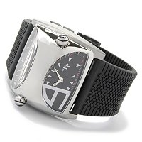 Lucien Piccard Men's Stratosphere Dual Time Silicon Rubber Strap Watch EUR 0.00