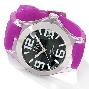 TKO Women's Palermo Silicone Rubber Strap Watch
