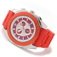 Croton Men's Duratron Swiss Quartz Chronograph Rubber Strap Watch $ 71.69