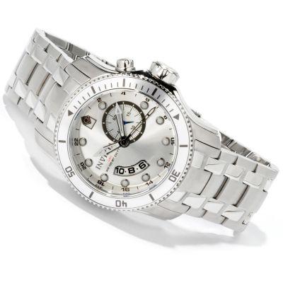 Invicta Men's Scuba Pro Diver Quartz GMT Stainless Steel Watch
