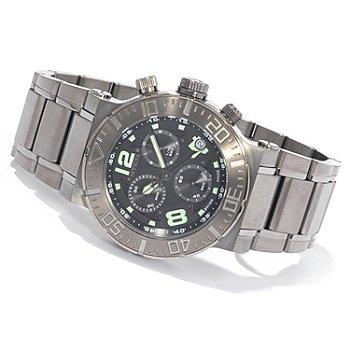 Invicta Reserve Men's Ocean Reef Swiss Quartz Chronograph Gunmetal Watch