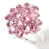 Wow, this diamond cluster ring is amazing!