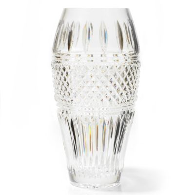 Waterford Crystal Signed Irish Lace 12' Vase. $ 279.00