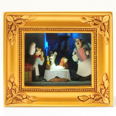 Walt Disney Choice Gallery of Light Box. LADY AND THE TRAMP $ 72.00