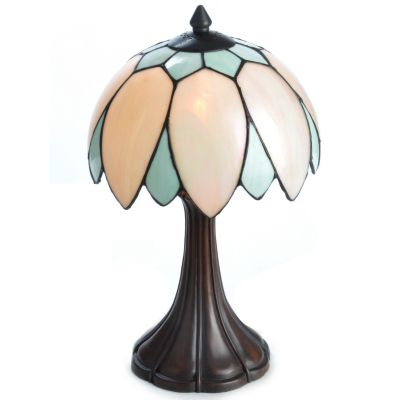 Unique Feathers Pink & Green Table Lamp. $ 24.12