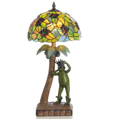 The Frog King's Tropical Table Lamp. $ 168.00