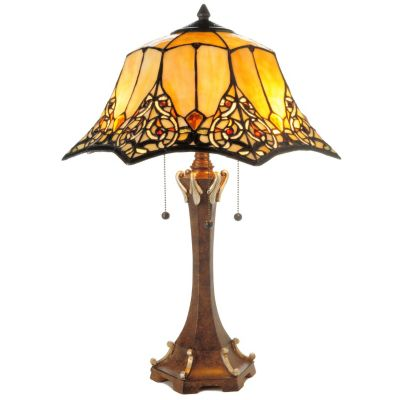 23' Augustine Stained Glass Table Lamp. $ 156.00