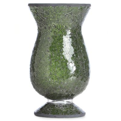 Mosaic Glass Candle Holder. SAGE $ 26.75