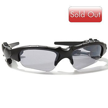 000-037 - Tech Talk Bluetooth® Enabled Sunglasses w/ Built-in 2GB MP3 Player