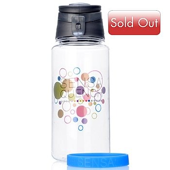 000-049 - SENSA® Snap Top Water Bottle w/ Bracelet