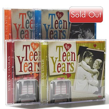 000-518 - Time Life® Music ''The Teen Years'' Eight-Disc 117-Song CD Collection