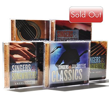 000-521 - Time Life® Music ''Singers & Songwriters'' Nine-Disc 116-Track CD Collection