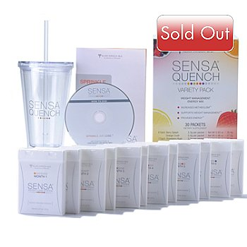000-669 - SENSA® Six-Month Weight Loss System New Year Blockbuster Kit
