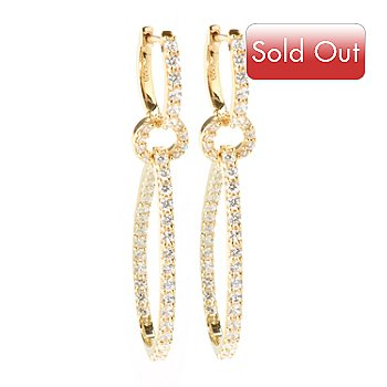 101-251 - Sonia Bitton For Brilliante 2.01ctw DEW Drop Inside-Out Earrings