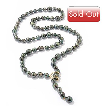 114-305 - 18K 8-13mm Baroque Tahitian Cultured Pearl ''Dare'' Necklace