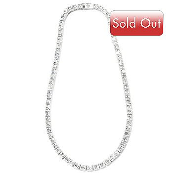 115-429 - TYCOON for Brill Platinum Embraced[ Tycoon Cut Tennis Necklace