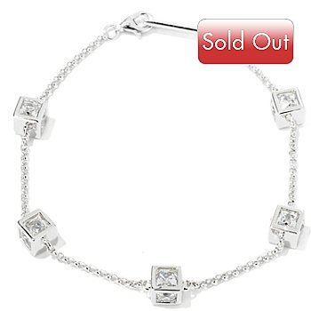 115-440 - TYCOON for Brilliante® Platinum Embraced™ Cube Station Bracelet