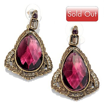 118-234 - Sweet Romance™ 1920's Inspired Pear Drop Earrings