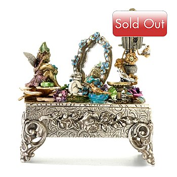 120-255 - Sweet Romance™ Multi Color Crystal & Glass Story Box