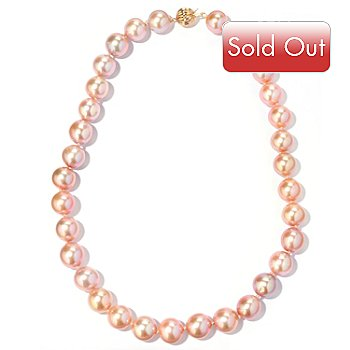 120-748 - 14K Gold 18'' 12-13mm Freshwater Cultured Pearl Necklace