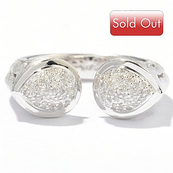 121-439 - EFFY Sterling Silver 0.30ctw Diamond ''Balissima'' Ring