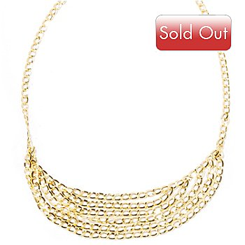 121-747 - Italian Designs with Stefano 14K Graduated Cascade Necklace