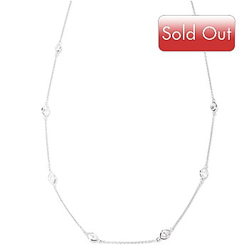 126-619 - Brilliante® Platinum Embraced™ 36'' 9.93 DEW Station Necklace
