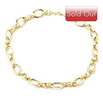 128-013 - Italian Designs with Stefano 14K Gold 18'' ''Oro Chic'' Necklace, 15.10 grams