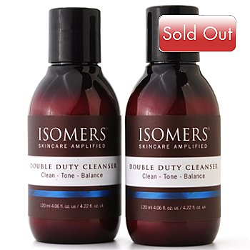 300-031 - ISOMERS Double Duty Cleanser Duo 4 fl oz each