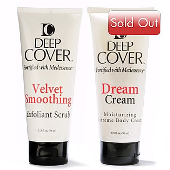 300-728 - Deep Cover Dream Cream & Velvet Smoothing Exfoliant Scrub Two-Piece Set