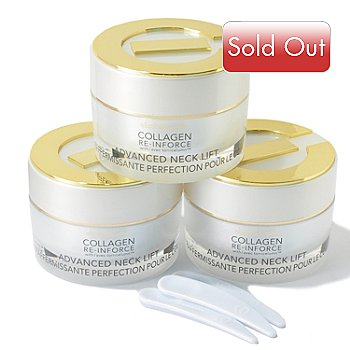 300-919 - Elizabeth Grant Collagen Firming Neck Cream Trio 1.7 oz