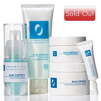 301-036 - Osmotics Cosmeceuticals Blue Copper 5 Skin Essentials Five-Piece Kit