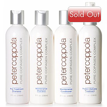 301-899 - Peter Coppola Pure CopaGen Complex Four-Piece Hair Smoothing System