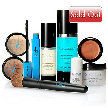 304-002 - Skinn Cosmetics Nine-Piece Complete Color & Treatment Collection