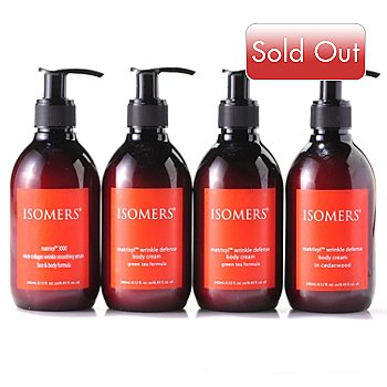 304-670 - ISOMERS® Three-Piece Matrixyl Power Pack w/ Bonus Body Cream