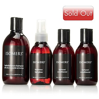 304-671 - ISOMERS® Four-Piece Hair Care Special