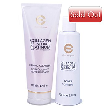 304-677 - Elizabeth Grant Two-Piece Collagen Re-Inforce Platinum Cleansing System