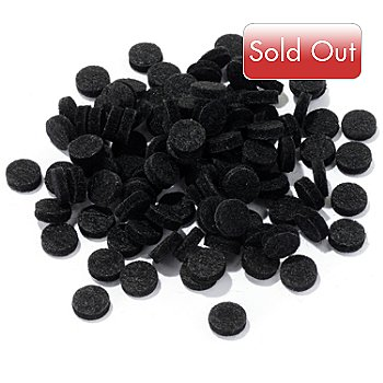 304-749 - MicrodermMD 100-Pack Replacement Black Wool Filters