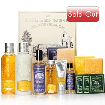 304-802 - Le Couvent des Minimes Nine-Piece Honey & Vanilla Deluxe Temptations Collection