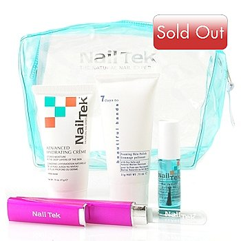 304-887 - Nail Tek Four-Piece File & Go Try Me Kit w/ Bag